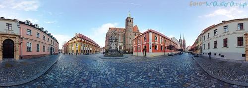 Panorama - Wrocław, Ostrów Tumski