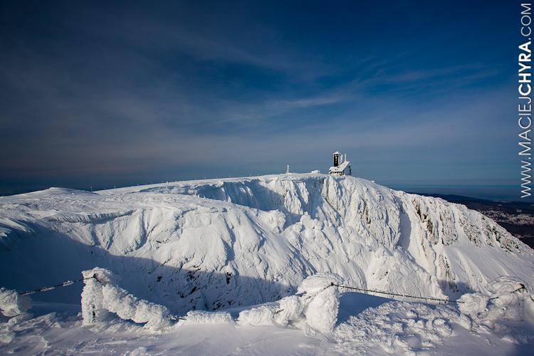 Karkonosze - Śnieżne Kotły, zima, fot. Maciej Chyra www.maciejchyra.com