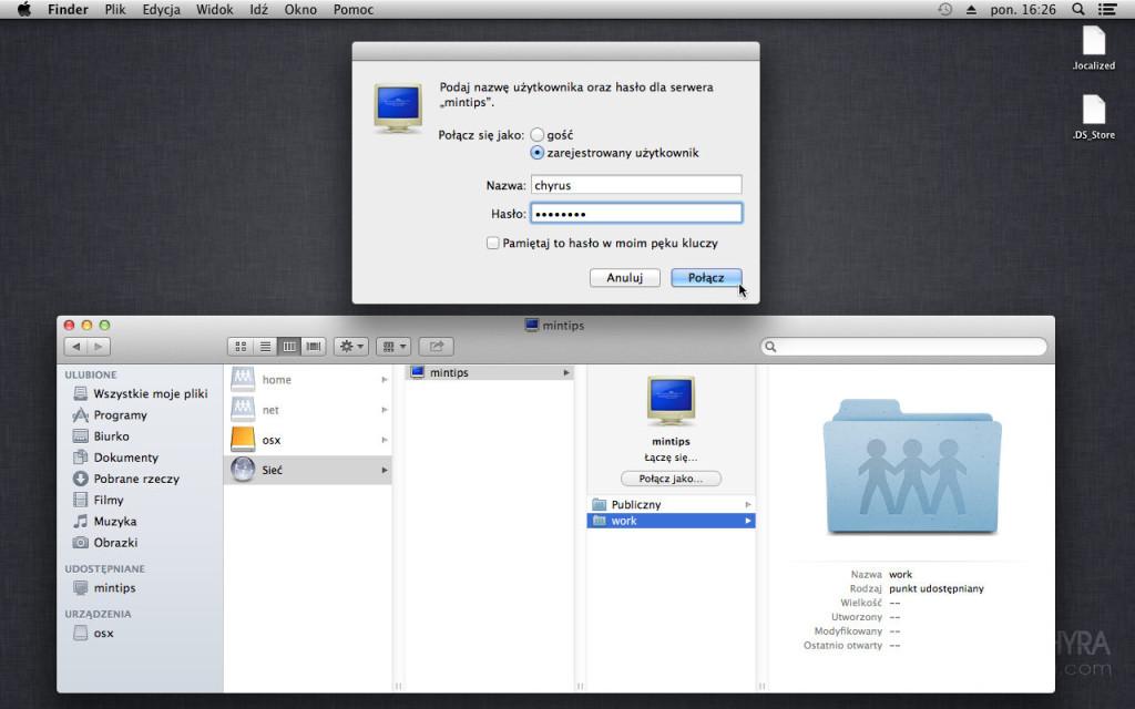 maciejchyra.com Mac OS X Lightroom synchronizacja
