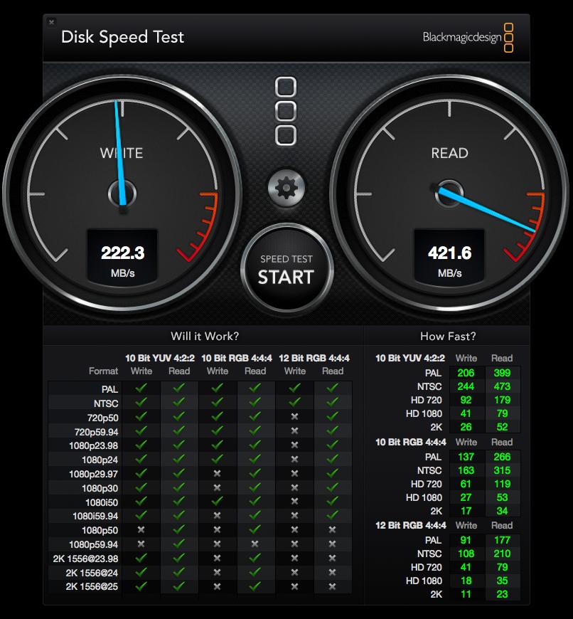 SSD Sandisk podpięty przez stację dokującą Unitek do MacBook Pro, fot. Igor Dyjach