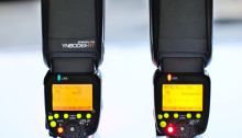 Od lewej: YN600EX-RT, Canon 600EX