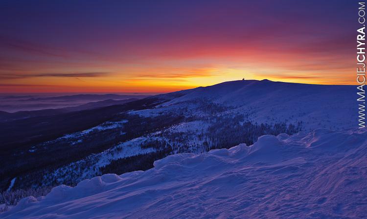 Karkonosze, zima, fot. Maciej Chyra www.maciejchyra.com