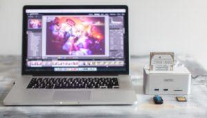 MacBook PRO 15 Retina i Unitek Y-1