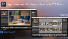 Lightroom 6 macos sierra vs windows 10 wydajność