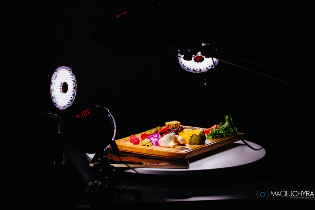 Rotolight fotografia kulinarna fot. Maciej Chyra