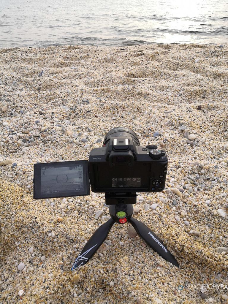 Manfrotto Pixi Xtreme z Canon M50
