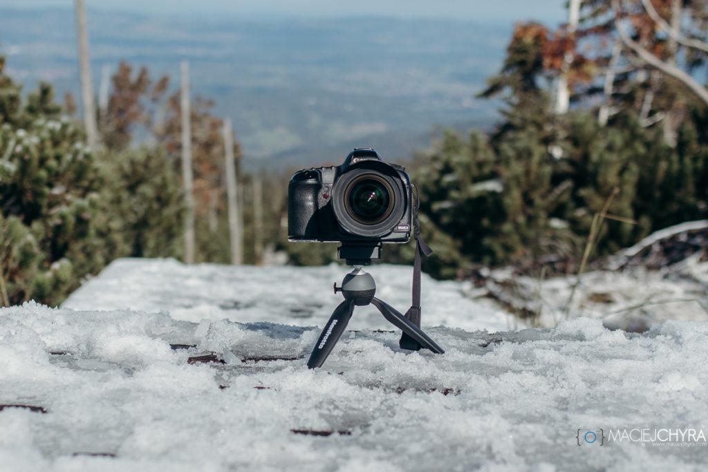 Manfrotto Pixie Xtreme z Canon EOS 5D MK II i Sigma 12-24 EX II